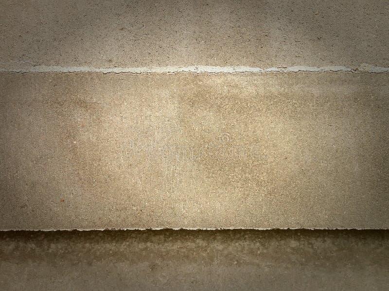 Openluchtgrunge poetste concrete textuur op royalty-vrije stock afbeelding
