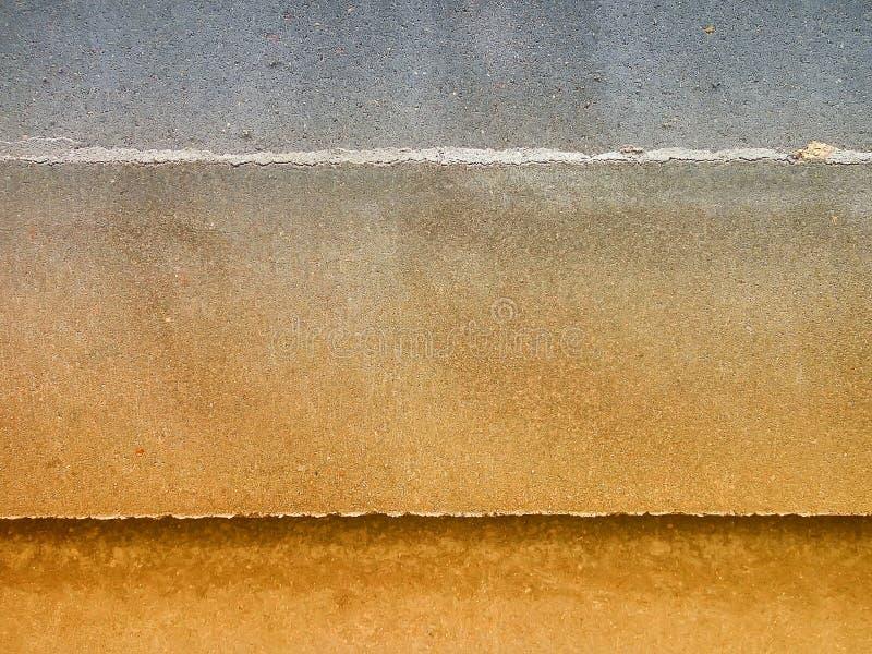 Openluchtgrunge poetste concrete textuur op royalty-vrije stock fotografie