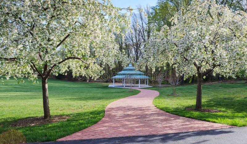 Openluchtpaviljoen Virginia Regional Park royalty-vrije stock fotografie