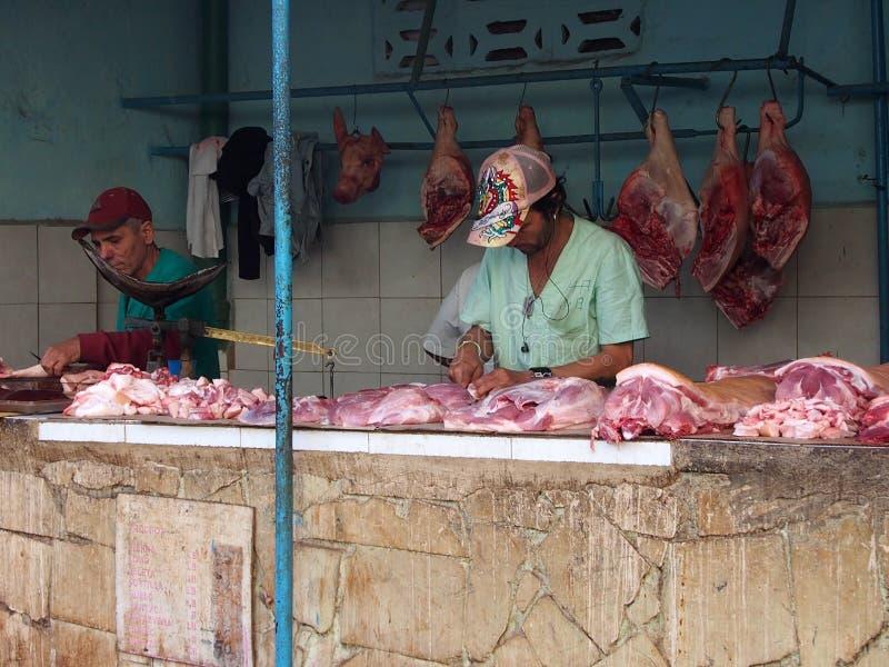 Openluchtslager Shop In Havana Cuba royalty-vrije stock foto's