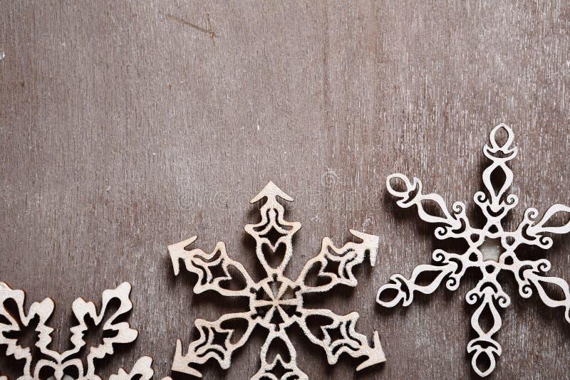 3 openwork снежинки рождества стоковое фото