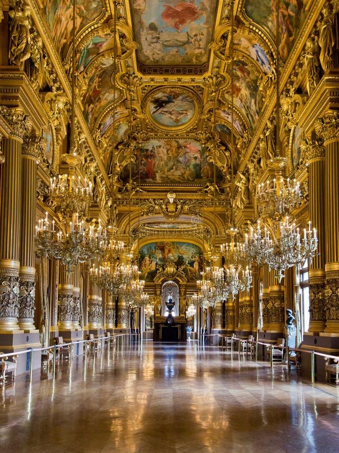 Oper Garnier Paris stockbild