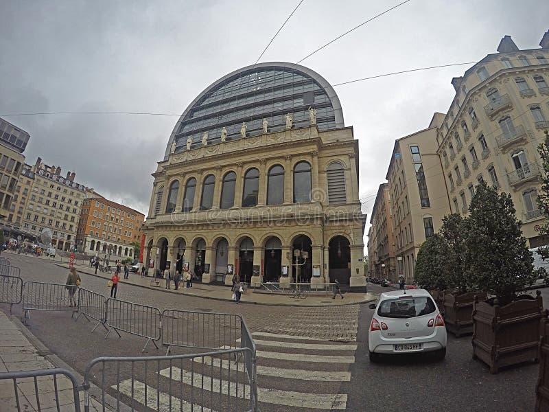 Oper Lyon stockbilder