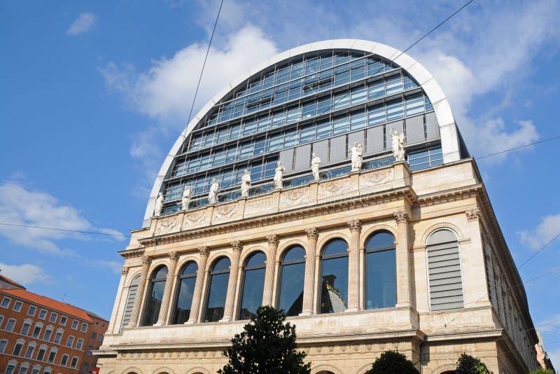 Oper in Lyon stockfotografie