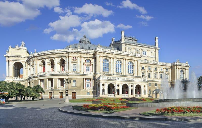 Oper Odessa stockfotografie