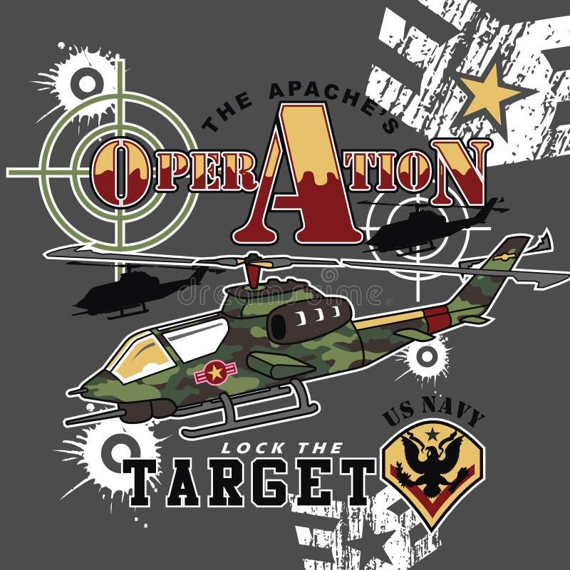 operação ilustração stock