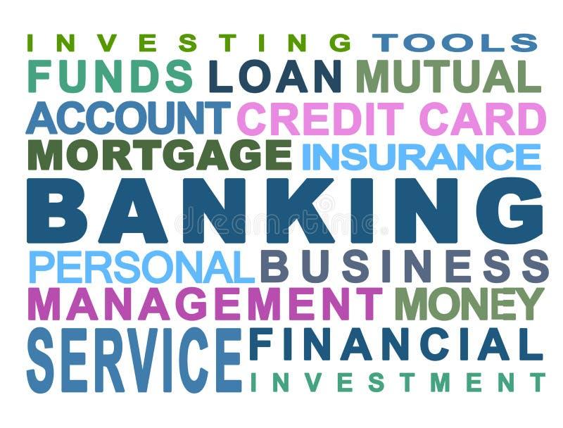 Operação bancária ilustração royalty free