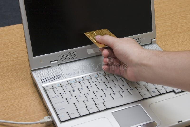 Operação bancária #3 do Internet imagem de stock royalty free