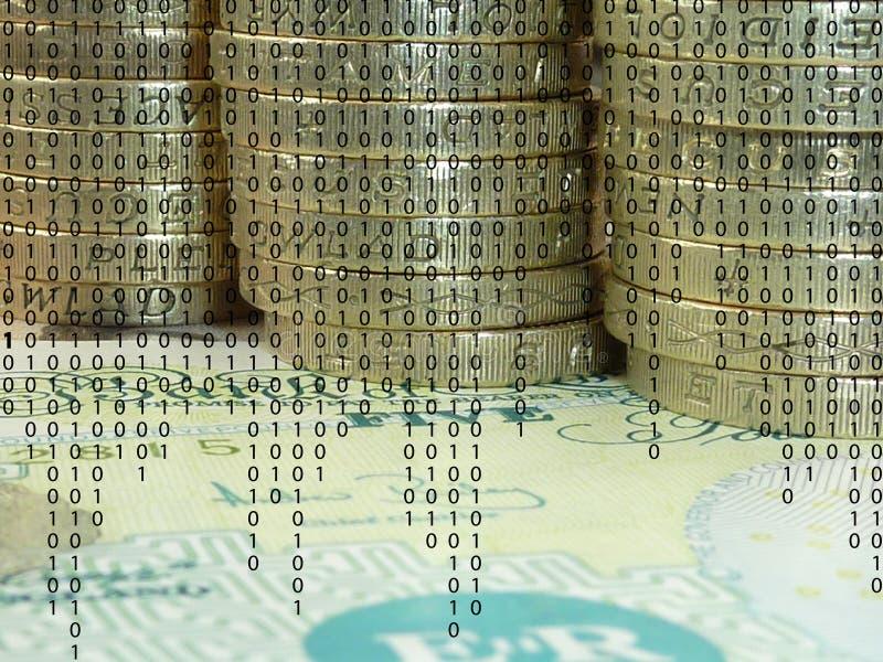 Operação bancária eletrônica foto de stock