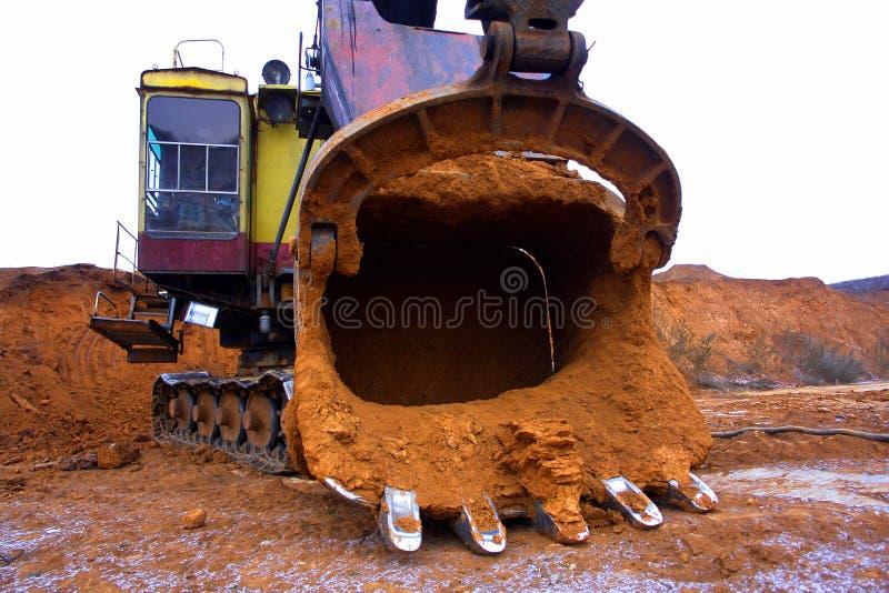 Operações de mineração foto de stock
