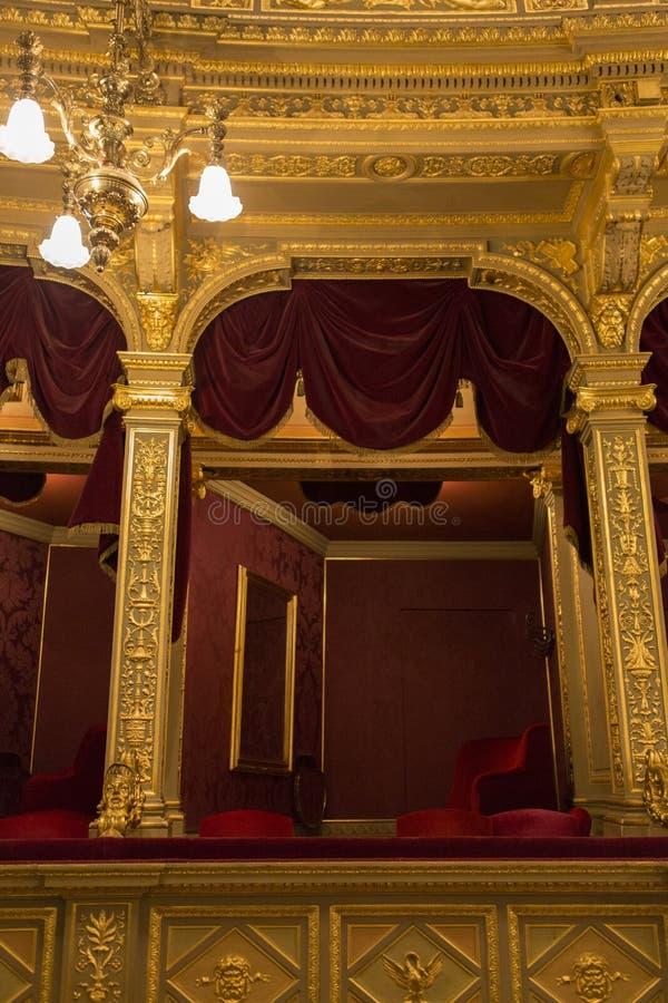 Opera Budapest royaltyfria bilder