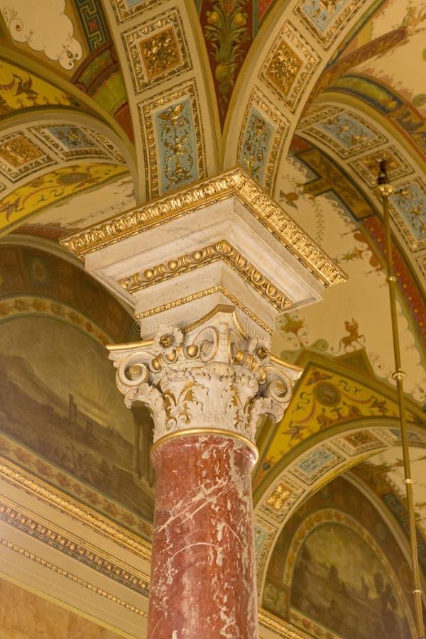 Opera Budapest royaltyfri bild
