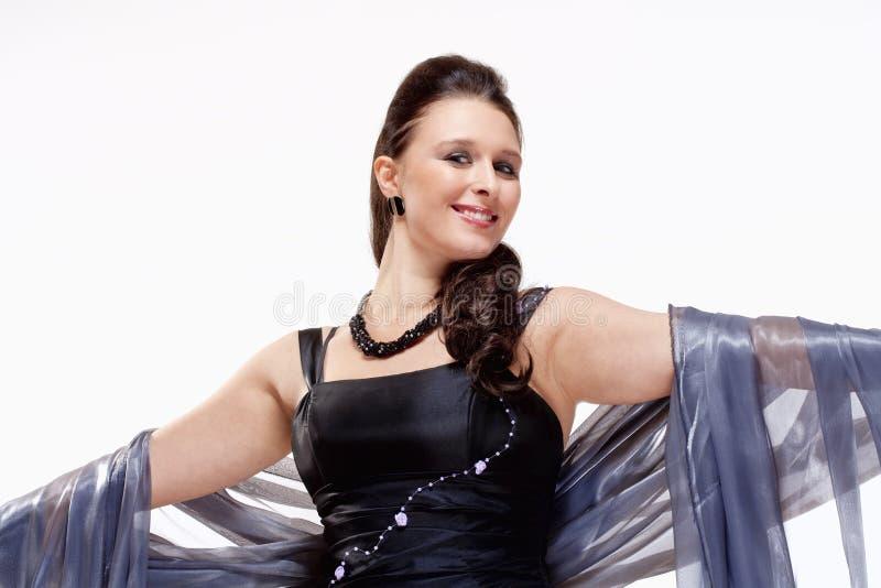 Opera Cantante Performing fotografie stock libere da diritti