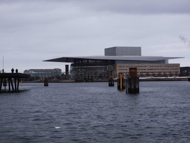 Opera Copenaghen di casa - Danimarca immagine stock libera da diritti