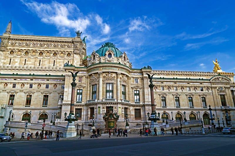 Opera de nacional Paris Garnier Palace foto de stock