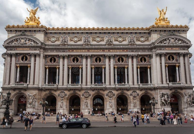 Opera DE Parijs Garnier royalty-vrije stock foto's