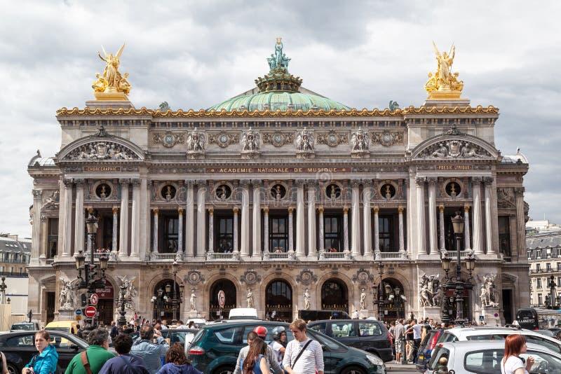 Opera DE Parijs Garnier stock fotografie