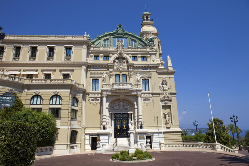 Opera del Monaco fotografie stock
