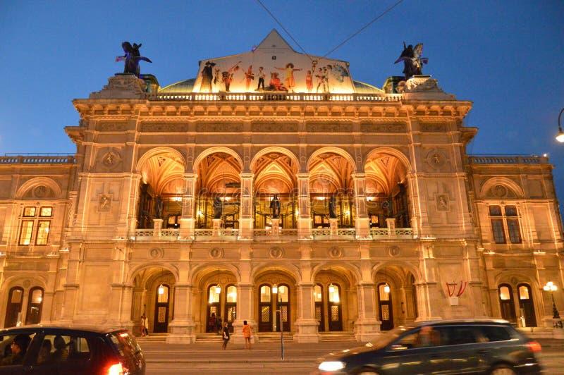 Opera dello stato di Vienna fotografie stock libere da diritti