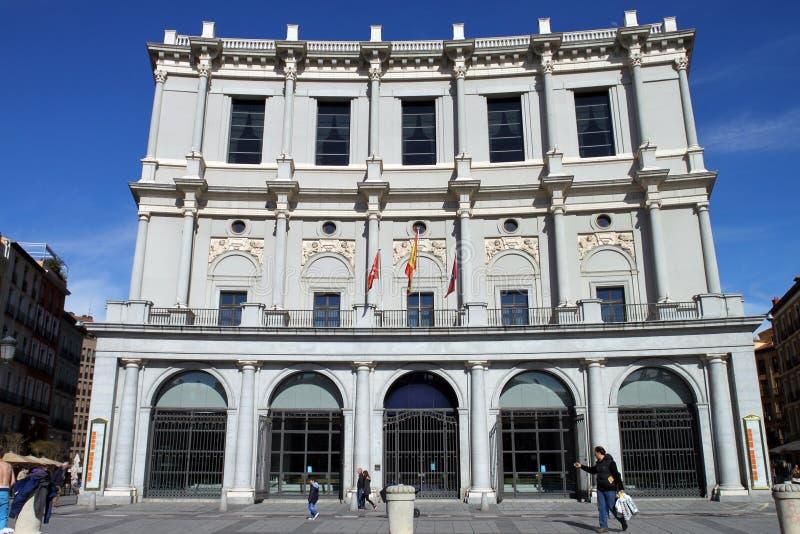 Opera di Madrid fotografie stock