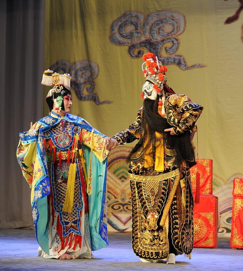 Opera diAddio-Pechino: Addio al mio concubine fotografia stock libera da diritti
