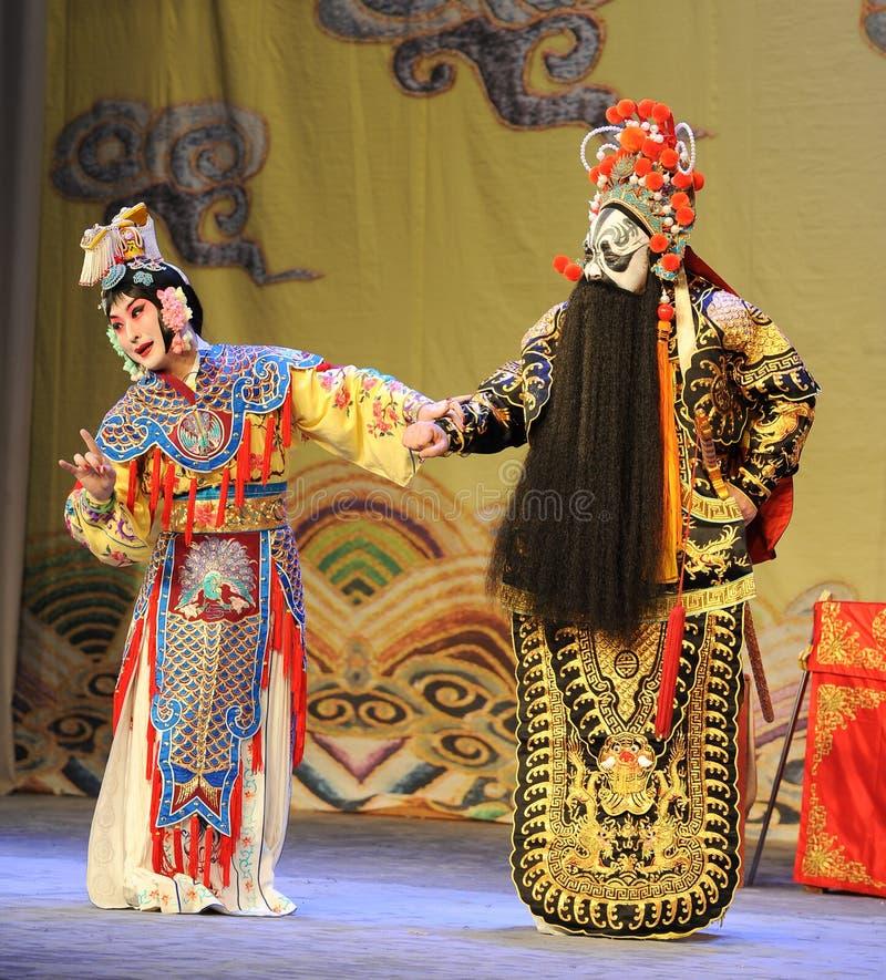 Opera diAddio-Pechino: Addio al mio concubine fotografia stock