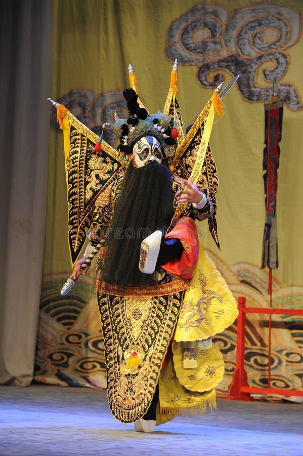 Opera diapparire-Pechino del Overlord: Addio al mio concubine fotografia stock