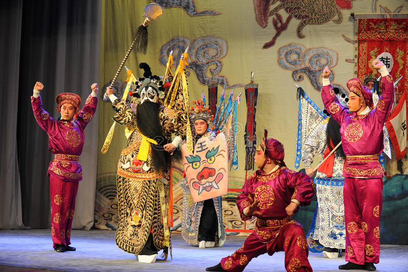 Opera diEsame-Pechino: Addio al mio concubine fotografia stock libera da diritti