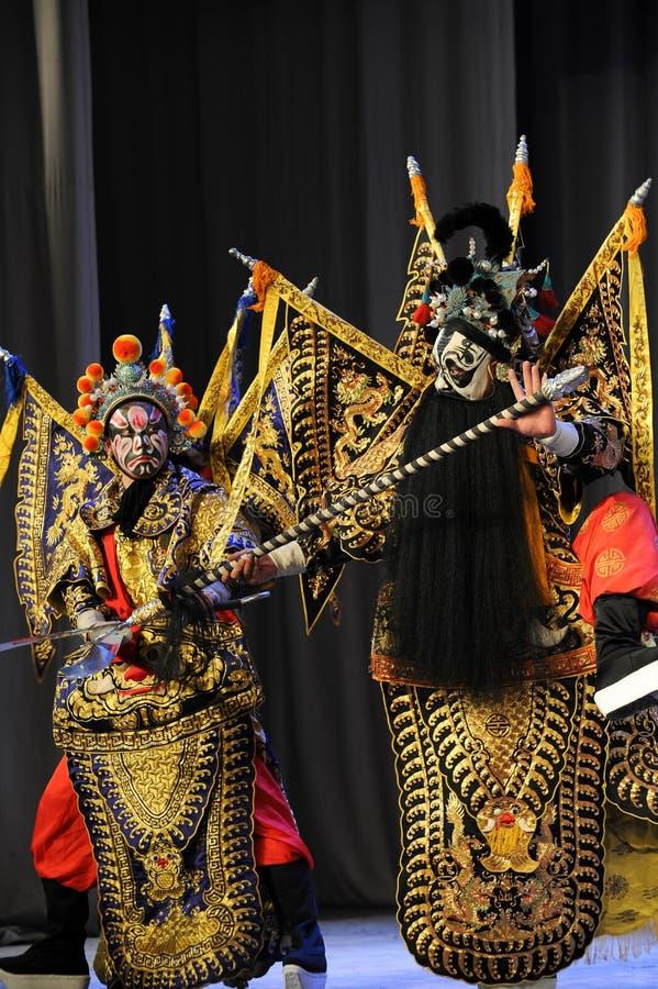 Opera diLotta-Pechino: Addio al mio concubine fotografia stock libera da diritti