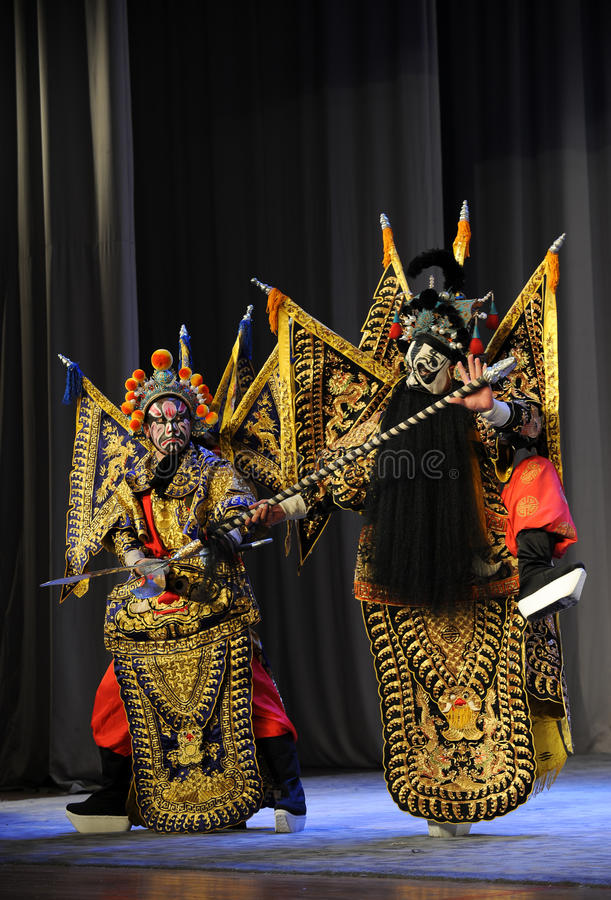 Opera diLotta-Pechino: Addio al mio concubine immagini stock