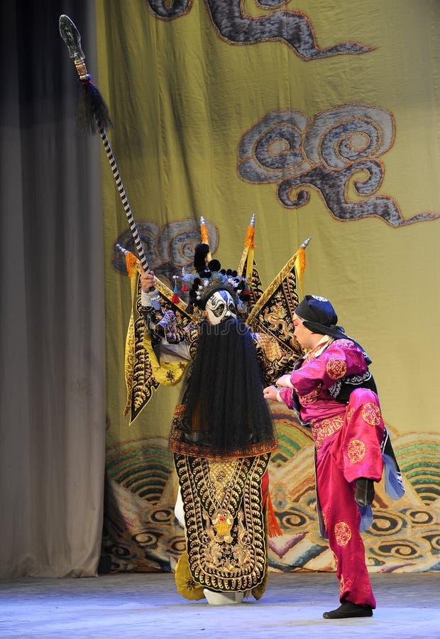Opera diPattuglia-Pechino: Addio al mio concubine immagine stock libera da diritti