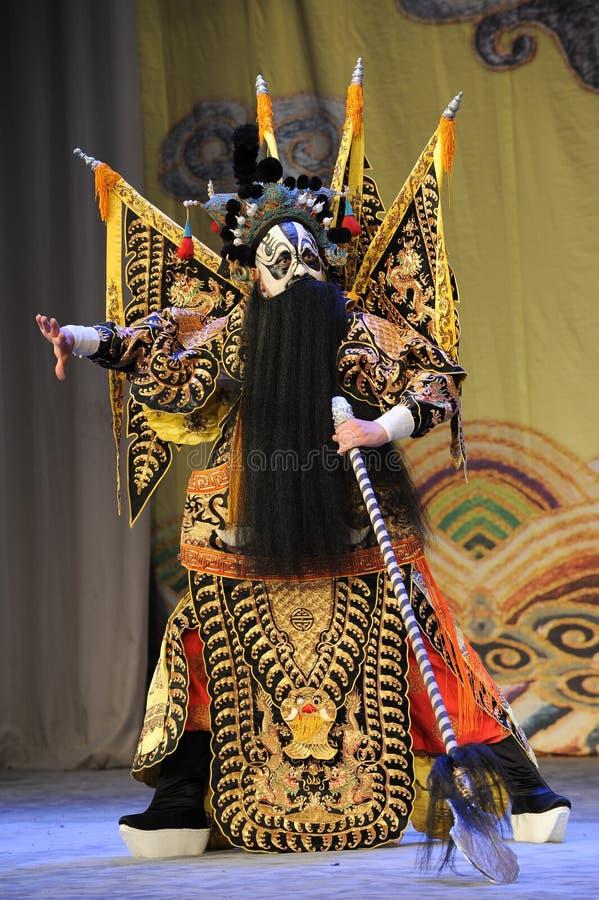 Opera dipistola-Pechino del Overlord: Addio al mio concubine fotografia stock libera da diritti