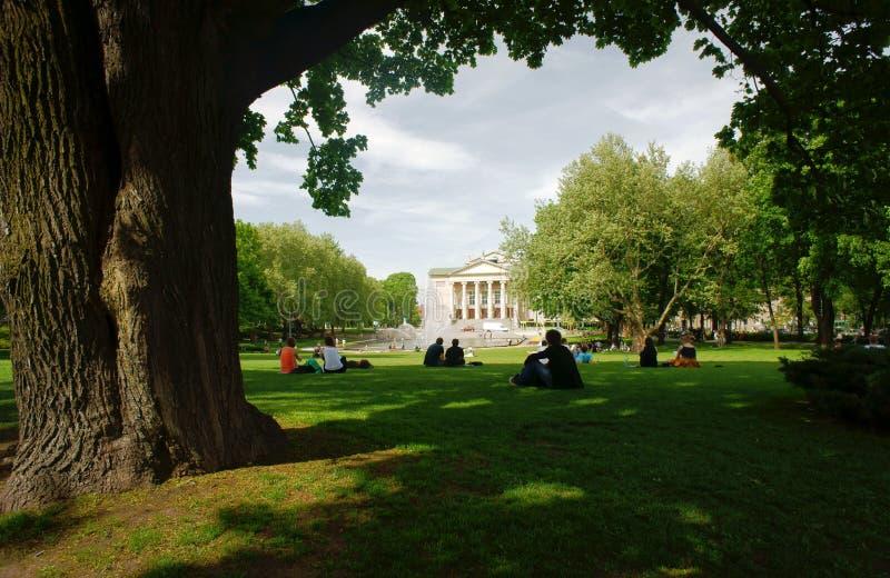 opera domowy park Poznan zdjęcie royalty free