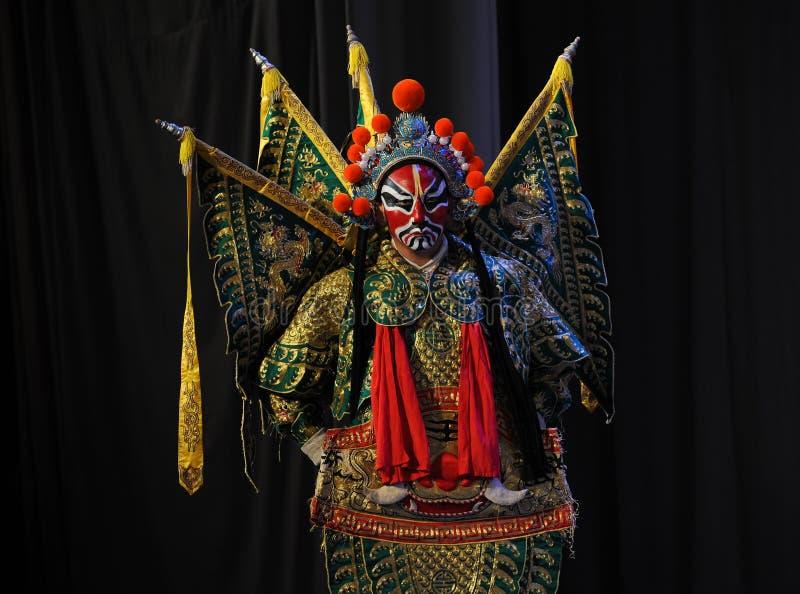 Opera erhualian-Peking: Chu Han-geschil stock afbeeldingen