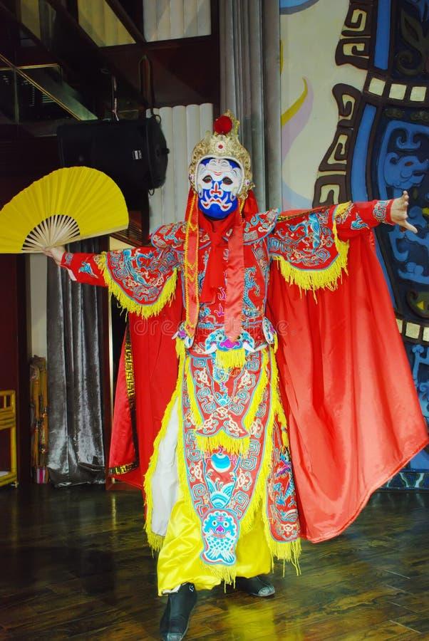Opera face stock photos