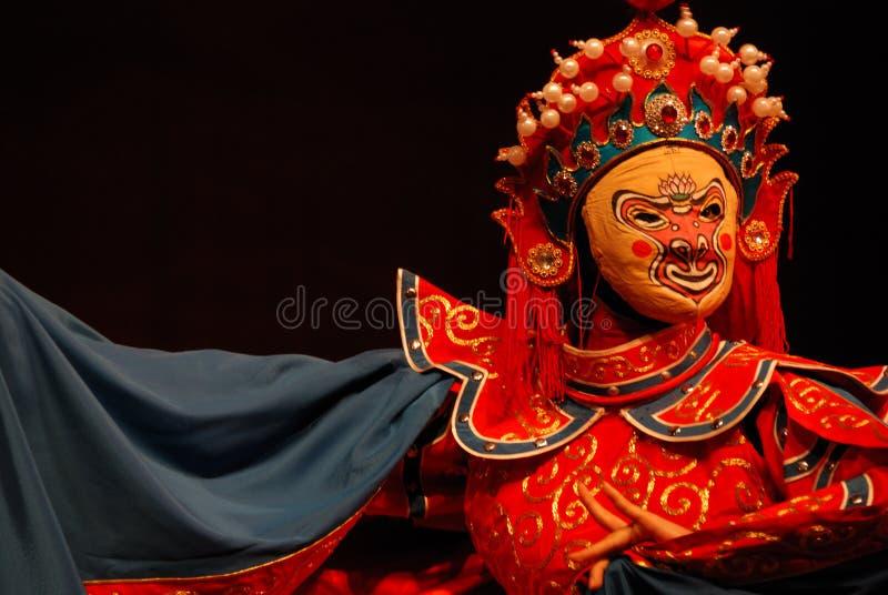 Opera face stock image
