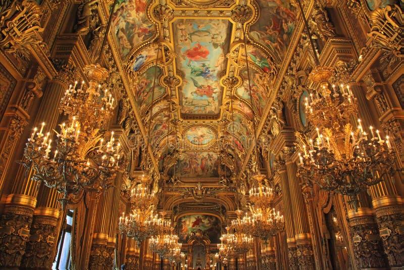 Opera Garnier immagine stock libera da diritti