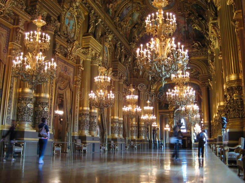Opera Garnier Parijs royalty-vrije stock afbeeldingen