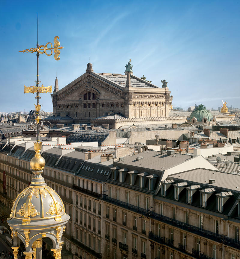 Opera garnier in Paris - France royalty free stock photography