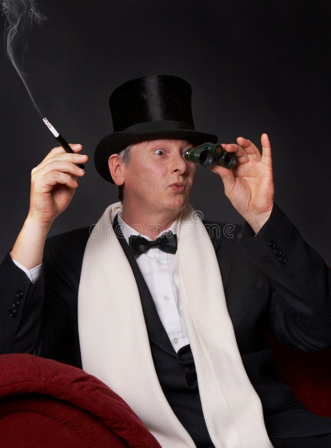 Opera glasses royalty free stock photo