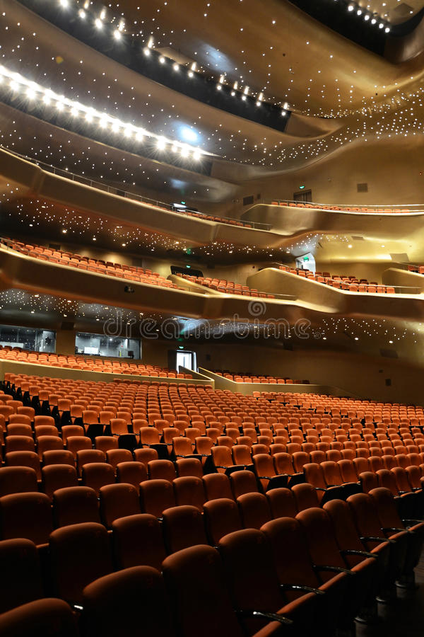 Download Opera House stock image. Image of ceiling, empty, hadid - 24642955