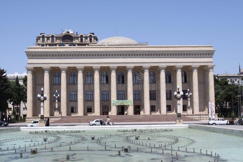 Download Opera House in Baku City editorial photography. Image of landmark - 21369612