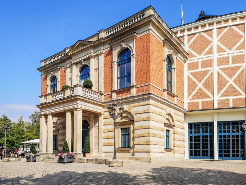 Opera house in Bayreuth royalty free stock photography