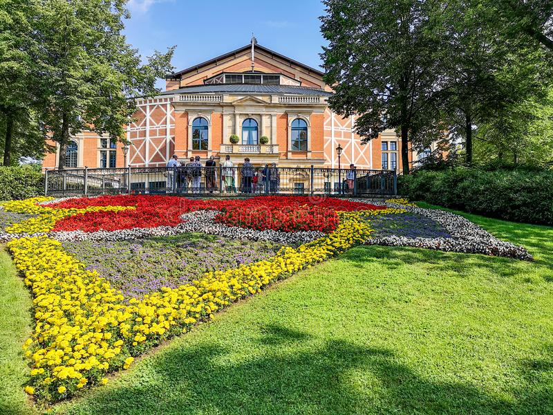 Opera house in Bayreuth royalty free stock images