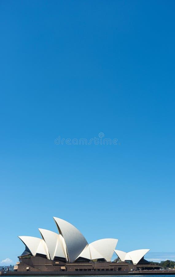 Opera house Blue Sky royalty free stock photos