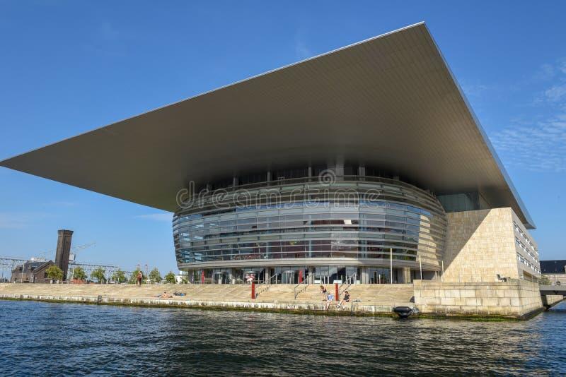 Opera House of Copenhagen in Denmark royalty free stock photography