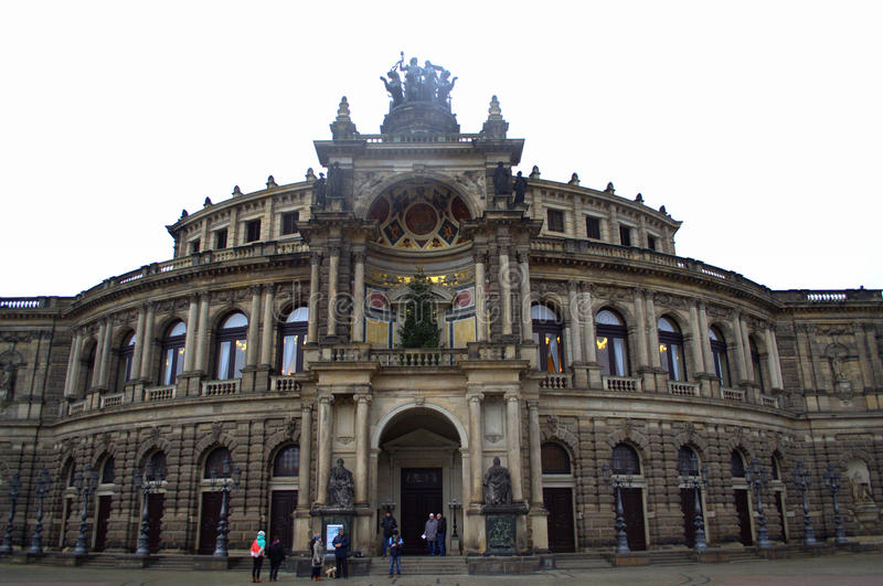 Download Opera House Facade Dresden Editorial Photo. Image Of Opera    49206416
