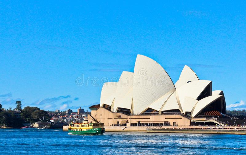 The Opera House royalty free stock image