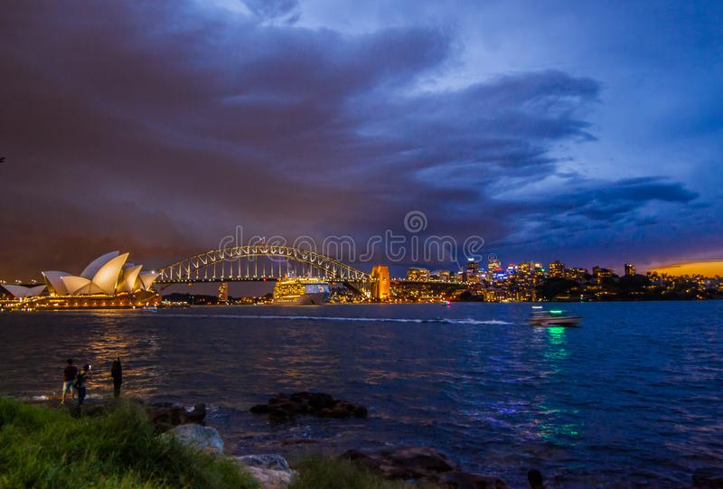 The Opera House Is A Symbol Of Australia Editorial Stock Image
