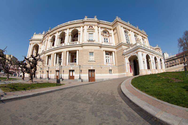 Opera house. Odessa ukraine landmark royalty free stock photo
